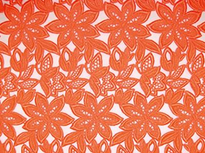SIMONA GUIPURE LACE ORANGE
