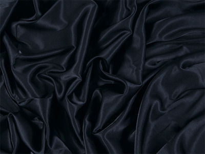 [당일발송]STRETCH SATIN BLACK