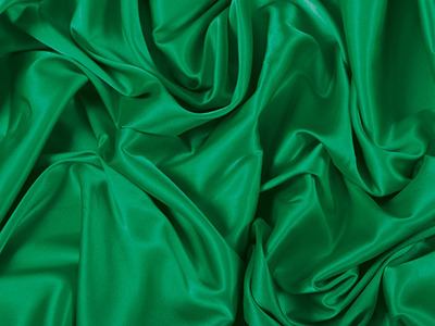 [당일발송]STRETCH SATIN EMERALD