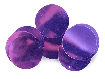 LOOSE SEQUINS 50MM LILAC DREAM